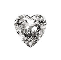 1.36 ct. Heart-Shape Loose Diamond (G, SI2)