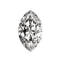 0.95 ct. Marquise-Cut Loose Diamond (E, SI2)