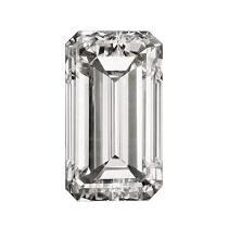 0.38  ct. Emerald-Cut Loose Diamond (D, SI2)