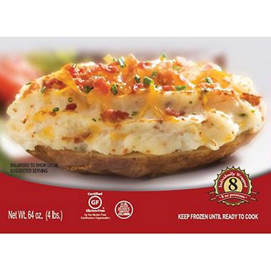 Idaho® Gourmet Twice Baked Potatoes - 8 oz. - 8 ct.