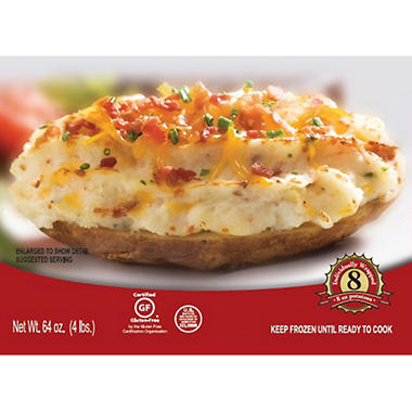 Idaho® Gourmet Twice Baked Potatoes - 8 oz. - 8 ct.