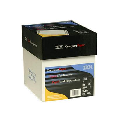 """IBM - Computer Paper, 20lb, 9-1/2 x 11"""" - Case"""