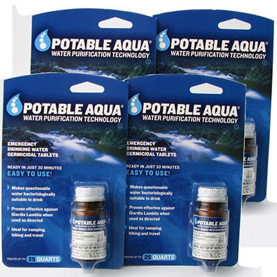 Augason Farms Potable Germicidal Water Tablets - 200 Count