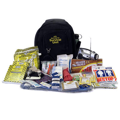 Augason Farms Roll & Go Survival Kit - 42 Pieces - 2 Person