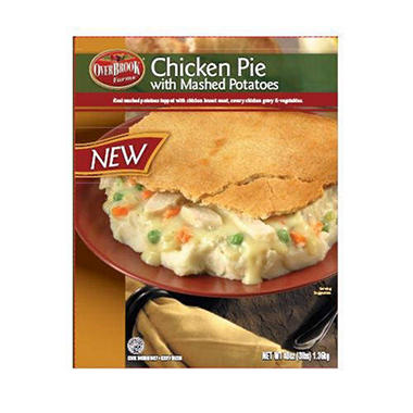 Overbrook Farms Chicken Pie w/Mash Potatoes - 48oz