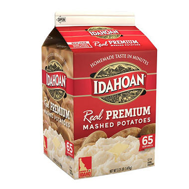 Idahoan� REAL Premium Mashed Potatoes - 3.24 lbs.