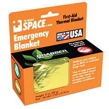 Emergency SPACE Blanket - Gold- 24 ct.
