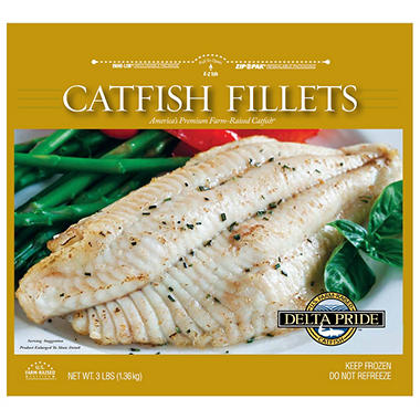 Delta Pride™ Catfish Fillets - 3 lbs.