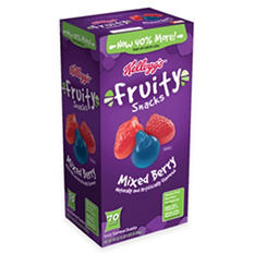 Mixed Berry Fruity Snacks - 70 ct.