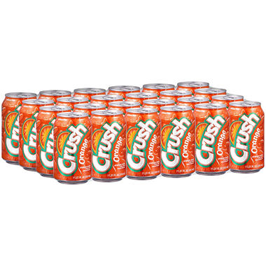 Crush Orange Soda (11.27 fl. oz., 24 pk.)