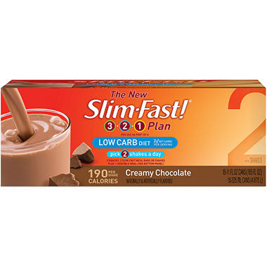 Slim-Fast!� Low Carb Chocolate Shake - 15/11oz