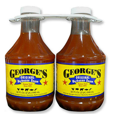 George's Original Barbecue Sauce - 2/32 oz.