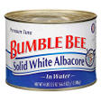 Bumble Bee® White Albacore - 4 lb. 2.5 oz.