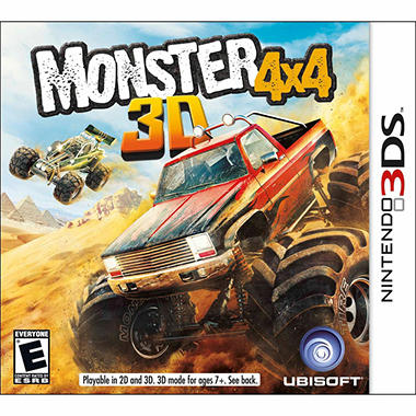 Monster 4x4 - 3DS