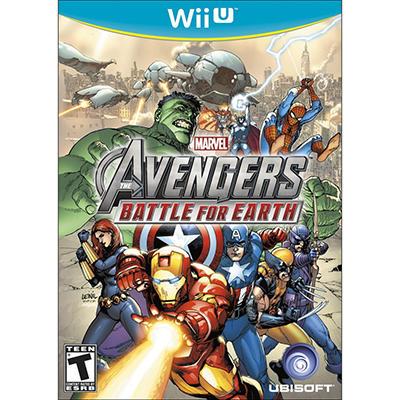 WIIU Marvel Avengers
