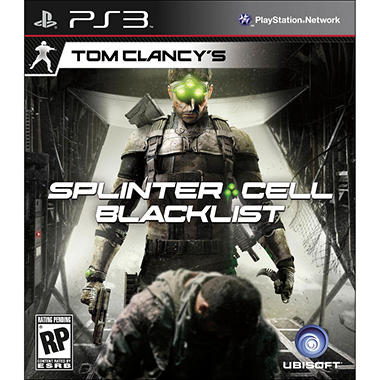 Clancy Splinter Cell Blacklist - PS3