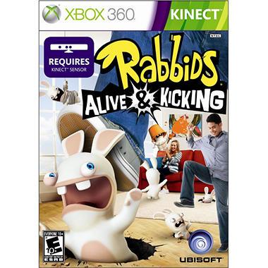 Raving Rabbids: Alive and Kicking - Xbox 360 Kinect