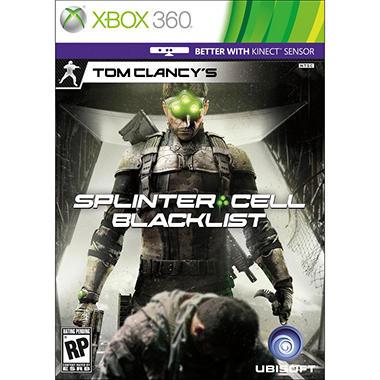 Clancy Splinter Cell Blacklist - Xbox 360