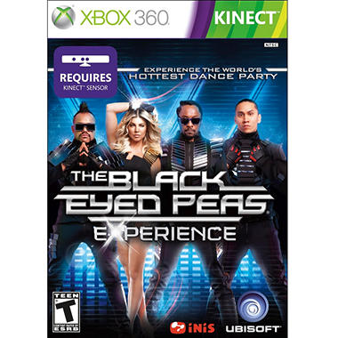 The Black Eyed Peas Experience Limted Edition - Xbox 360 Kinect