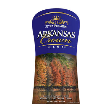 Arkansas Select Club Canadian Whisky (750 ml)