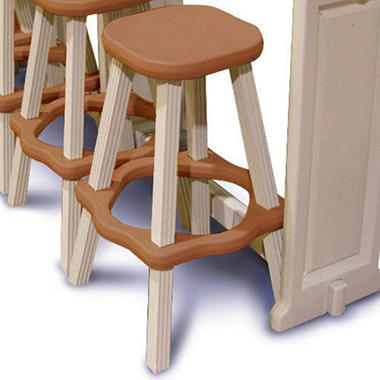 Barstools - Redwood Color - 2 pc. - 26