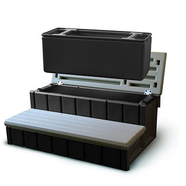 Spa Storage Step & Cooler - 36