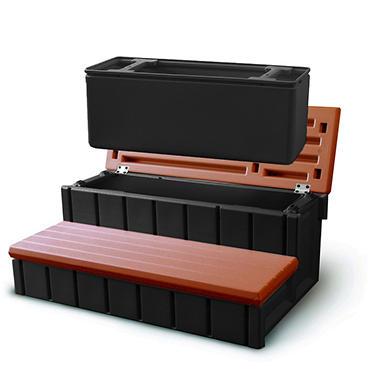 Spa Storage Step - 36