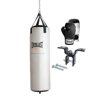 Everlast 70 Pound Platinum Heavy Bag Kit
