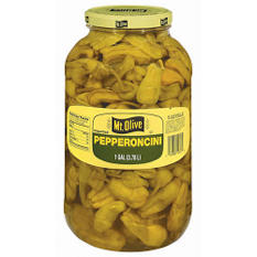 Mt. Olive Pepperoncini - 1 gal. jar