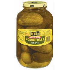 Mt. Olive Hot 'n' Spicy Kosher Dills - 1 gal. jar