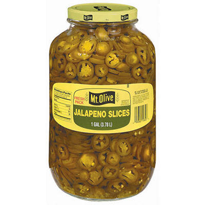 Mt. Olive Jalapeño Slices - 1 gal. jar