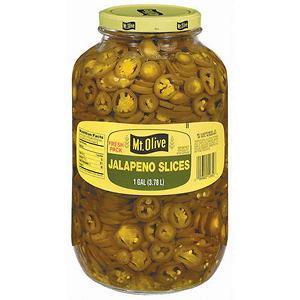 Mt. Olive Jalapeño Slices - 1 gal. jar