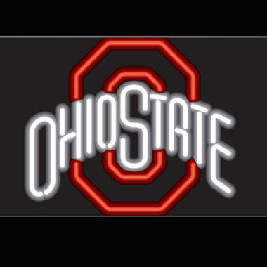 Ohio State University Neon Sign