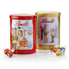 Lindt Lindor Nostalgic 6 Tin Set