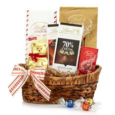 Lindt Classic Holiday Gift Basket
