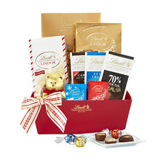 Lindt Chocolate Season's Greetings Gift Basket