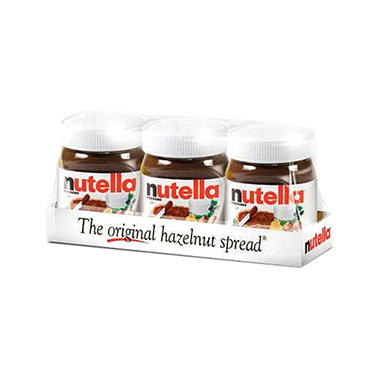Nutella Hazelnut Spread - 13 oz. jars - 3 pk.