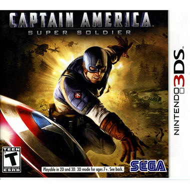 Captain America Super Soldier - 3DS