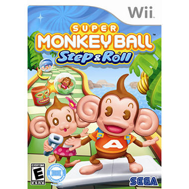 Super Monkey Ball: Step and Roll - Wii