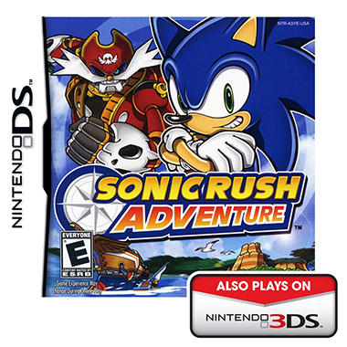 Sonic Rush Adventure - NDS