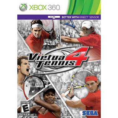 Virtua Tennis 4 - Xbox 360 Kinect