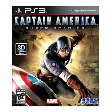 Captain America: Super Soldier - PS3