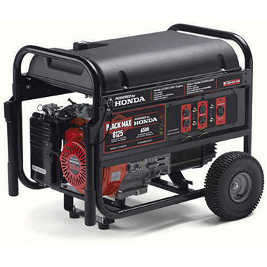 Black Max 6,500/8,125-Watt Portable Generator