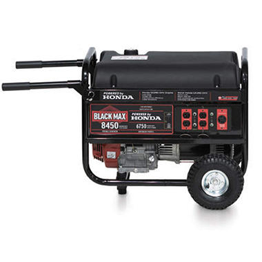 Honda Black Max 8450 Generator - 6.75KW
