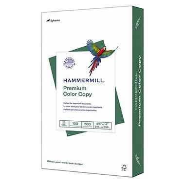 Hammermill - Color Copy Paper, 100 Brightness, 8-1/2 x 14, Photo White - 500/Ream