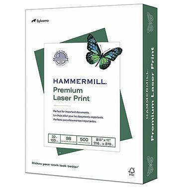 Hammermill - Laser Print Paper, 32lb, 98 Bright, 8-1/2 x 11