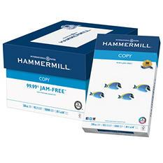 """Hammermill Copy Paper, 20lb, 92 Bright, 8 1/2"""" x 14"""", 5,000 Sheets"""
