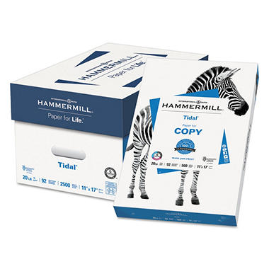 Hammermill - Tidal MP Copy Paper, 20lb, 92 Bright, 11 x 17