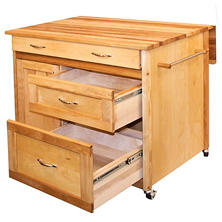 Catskill Deep Drawer Island