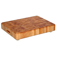 Catskill End Grain Chopping Block with Feet